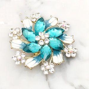 Jewelry - Enamel Brooch